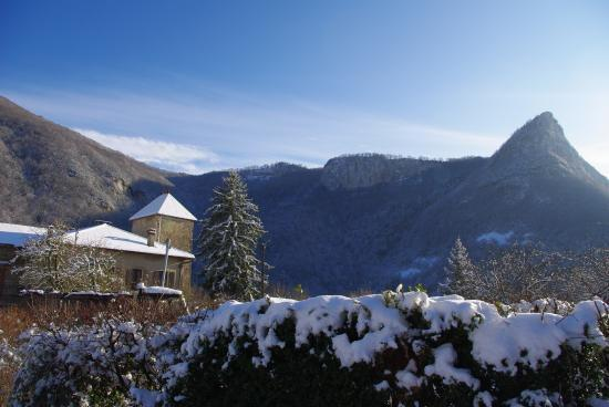 Hameau de Malix sous la neige
